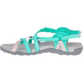 Merrell Terran Lattice II - Chaussures Femme - turquoise